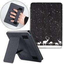 حافظة BOZHUORUI حافظة لهاتف أوقد بيرفوايت جديد تمامًا (الجيل 10th ، إصدار 2018) غطاء حماية من الجلد الصناعي مع حزام يد