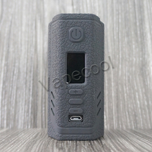 Texture Silicone Case Skin for Lost Vape Triade DNA250C TC Box Mod 300W Silicon Cover Sleeve gel for Lost Vape Triade DNA 250C