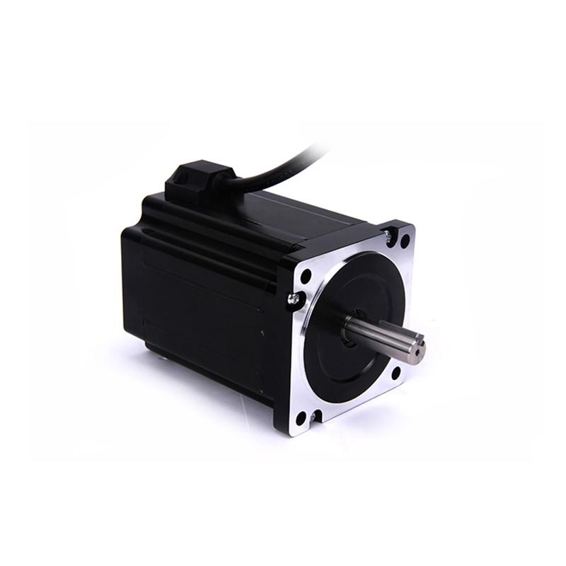 цена на High torque 86 Stepper Motor 2 PHASE 4-lead Nema34 motor 86BYGH3401 119.5MM 6.0A 8.00N.M LOW NOISE motor for CNC XYZ