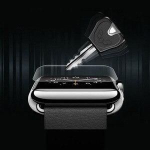 Image 4 - 9D hidrojel Film tam kenar koruyucu kapak iwatch için 4/5/6/SE 40mm 44mm ekran koruyucu Apple için İzle serisi 2/3 38mm 42mm