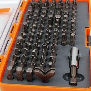 Image 2 - New 97pcs Magnetic Screwdriver set SECURITY BIT SET L 25mm
