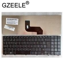 GZEELE ใหม่สำหรับ Packard Bell EasyNote TJ61 TJ62 TJ65 TJ66 TJ64 TJ65 TJ67 TJ71 แป้นพิมพ์ภาษาสเปน SP TECLADO สีดำ