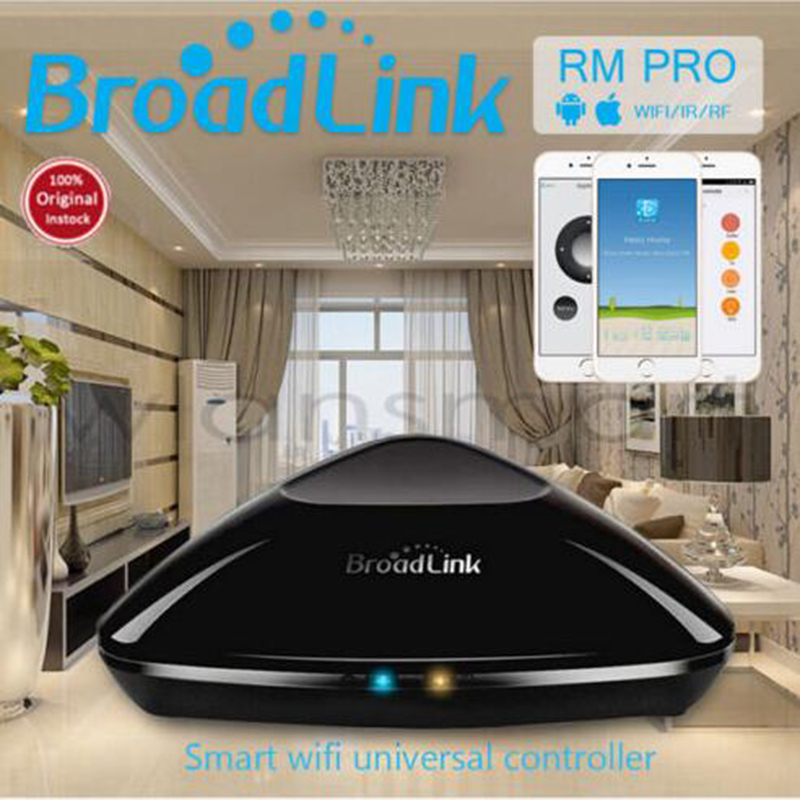 Broadlink RM2 Rm Pro Module domotique intelligent Télécommande WIFI + IR + RF Switch intelligent sans fil pour Android