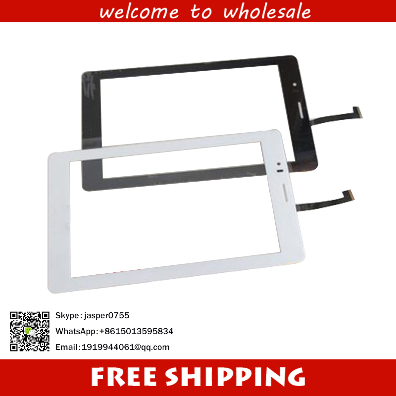 Black New 7 inch Touch Screen Digitizer Glass For FLY FLYLIFE CONNECT 7 3G 2 tablet PC Free shipping