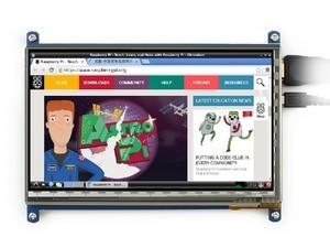 Image 3 - 7นิ้วราสเบอร์รี่piหน้าจอสัมผัส800*480 7นิ้วแบบCapacitive Touch Screen LCD,อินเตอร์เฟซHDMIรองรับระบบต่างๆ