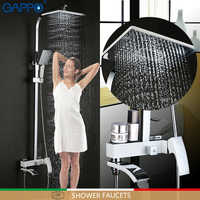 GAPPO shower faucet bathroom rainfall shower faucets bath shower bath tub mixer wall mounted shower mixers