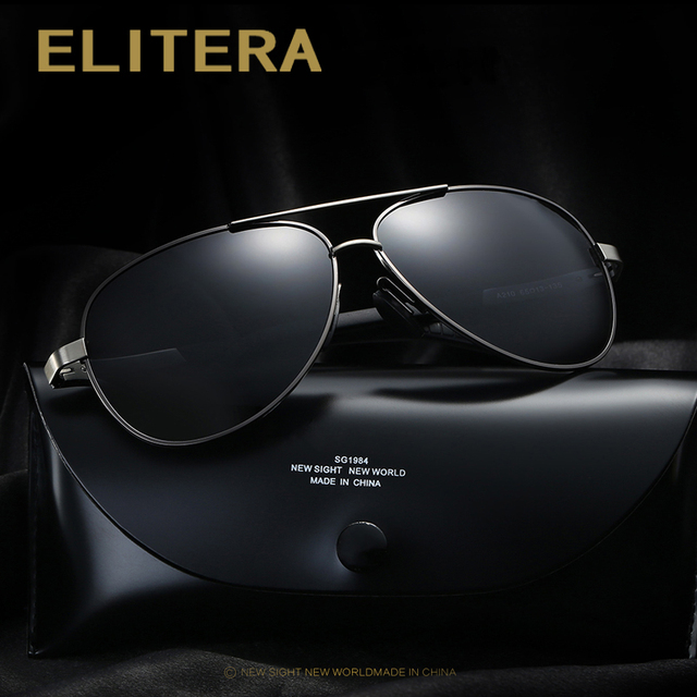 ELITERA New Vintage Polarized Sport Sunglasses Men Brand Outdoor Fishing Driving Sports Sun Glasses Oculos De Sol Masculino