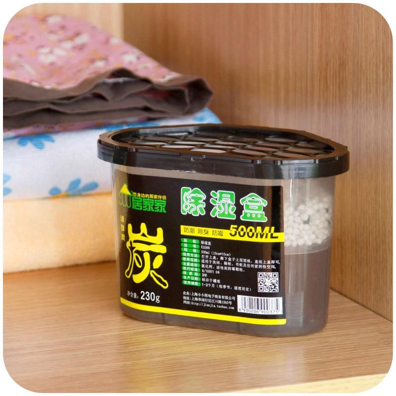 Activated Carbon Interior Closet Clothes Desiccant, Desiccant Moisture  Absorption Mildew Proof Box K3268