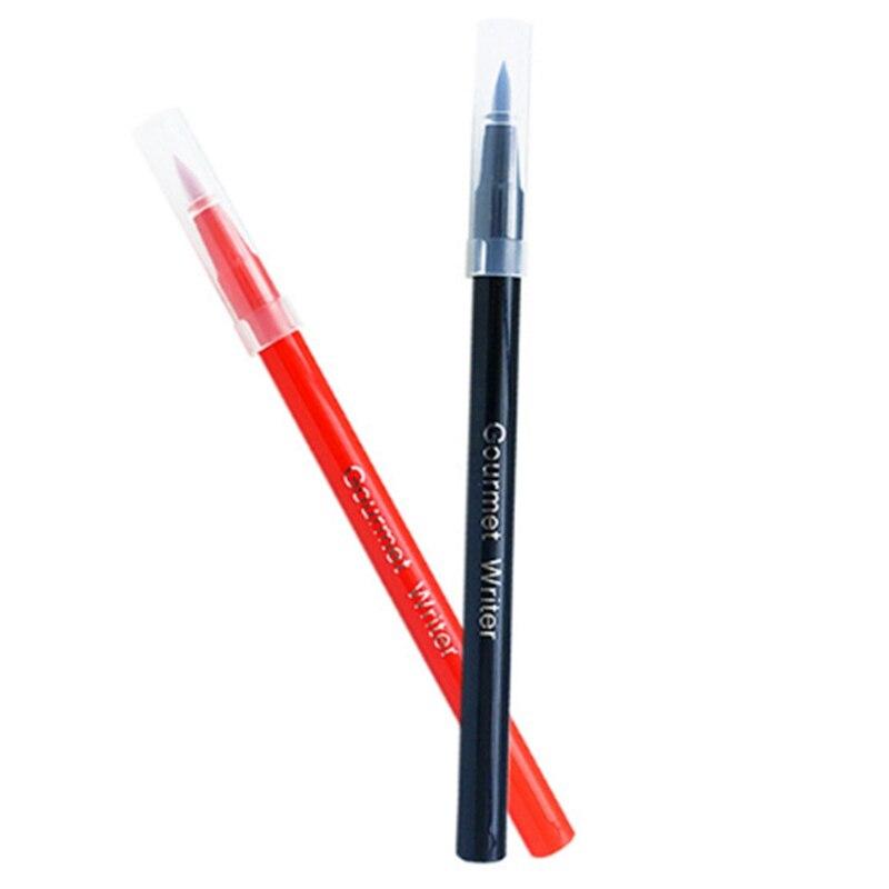 Image 5 - Pigmento comestível caneta escova alimentos cor caneta para  desenhar biscoitos bolo ferramentas de decoração bolo diy cozimento bolo  pintura gancho coloraçãoUtensílios de culinária