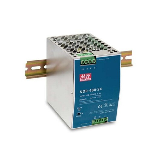 Original MEAN WELL 75W Single Output Industrial Din Rail Switching Power Supply NDR-75 2014 high performance switching power supply 75w single output din rail type power supply
