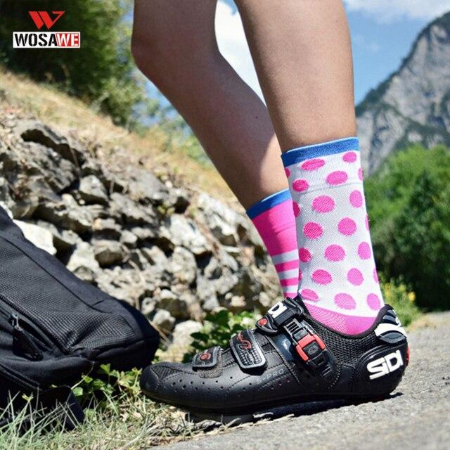 Chaussettes de cyclisme de sport DH chaussettes de sport de course marque professionnelle respirant protéger les pieds chaussettes de vélo de route vélo de course hommes femmes