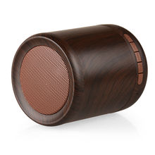Wooden Wireless Bluetooth Speaker Outdoor Portable Wireless Home Mini Audio Subwoofer Phone Speaker TF Card Speaker K2001(China)