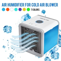 Hot Mini Fan Portable Air Conditioner Air Cooler Small Air Conditioning Appliances Air Cooling Fan Summer Portable Conditioner