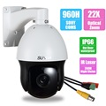 SUNBAOutdoor 22XZoom960H700TVL Sony CCD Laser IRCut NightVision Middle Speed PTZ Analog CCTV Security Dome Camera RS-485 Control