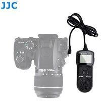 JJC cable de liberación de obturador remoto para cámara, temporizador con cable, para Pentax K 70/KP, reemplaza CS 310