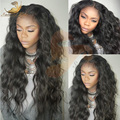 8А Glueless Полный Шнурок Человеческих Волос Парики Для Черные Женщины Свободные волна Фронта Шнурка Человеческих Волос Парики 130% Бразильский Девственные Волосы Парик