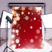 Photography Backdrops Bokeh Halos Sparkle Sequin Christmas Theme Seamless  Kids Adutls Merry Christmas Portraits Background