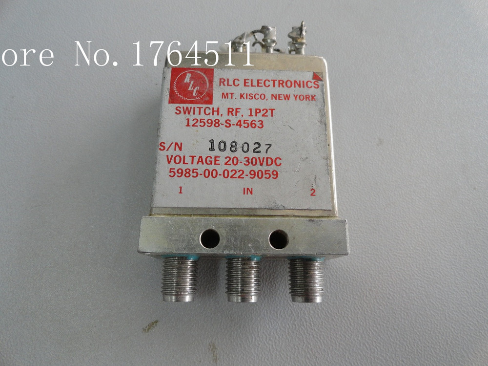 [BELLA] Supply RLC 12598-S-4563 SPDT DC-18GHZ 28V  --2PCS/LOT
