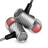 Original Brand Earphone Kayer KD3 Headphone Metal Headset Earbuds With Mic For Earpods Airpods