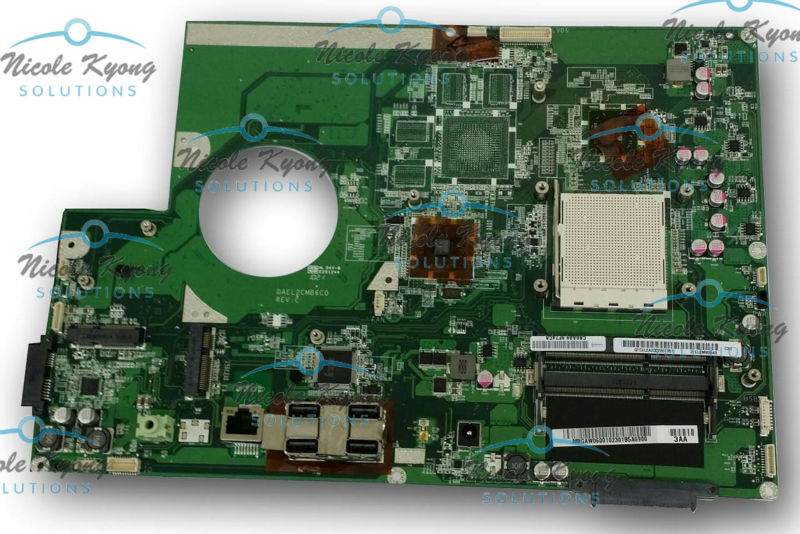 100% working MB.GAW06.001 MB.GAW06.002 AIO AM3 DDR3 SDRAM DAEL2CMB6C0 MotherBoard SYSTEM BOARD for Gateway All In One ZX4300