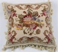chair pillow vintage velvet cushion nordic home needlepoint handmade cusion covers luxury decoration 216 3 14x14 gc28neeyg4