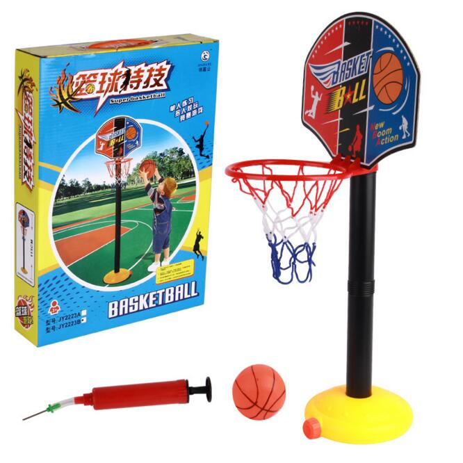SHINEHENG High Quality Baby Inflation Basketball Stand Sport Indoor Outdoor Kids Toys Outdoor Fun & Sports Free Inflator
