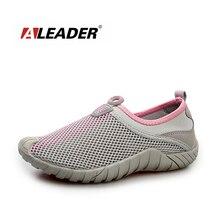 Aleader Para Caminar Transpirable Zapatos de Las Mujeres de Malla Ligera Zapatos de Agua de Playa Resbalón En Zapatos de Entrenamiento Atlético Deporte Zapatillas de Deporte de Las Señoras