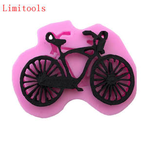 LIMITOOLS Baking Mold Bike Fondant-Cake Silicone Bicycle DIY Household-Products Food-Grade