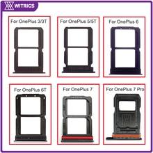 Witrigs для OnePlus 5T держатель лотка для sim-карты слот для One Plus 3 3t 5 5T 6 6T 7 7Pro Замена
