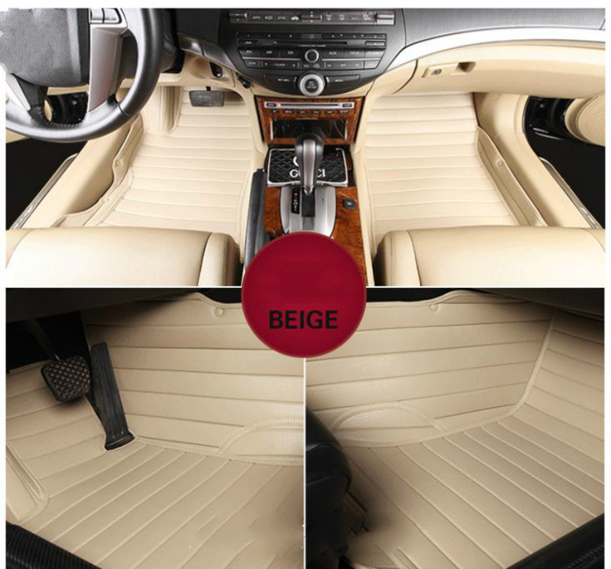 цена на No Odor Full Covered Durable Waterproof Carpets Special Car Floor Mats For SKODA OCTOVIA YETI SUPERB Kodiaq Most Models