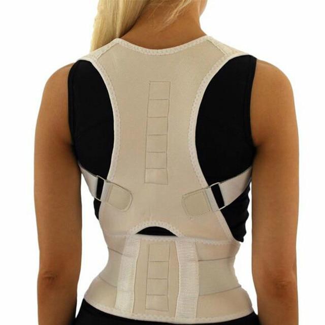 調整可能なバック姿勢コレクター脊椎サポートブレースバックショルダーサポートベルト姿勢補正ベルト矯正男性女性