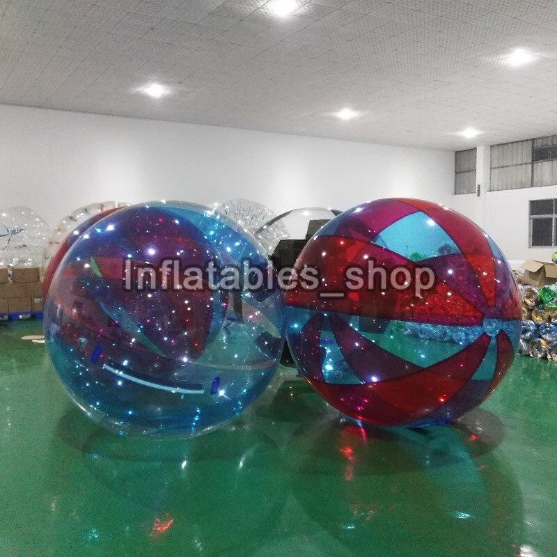 Jouet balle balle anti stress gonflable eau marche balle 1.0mm TPU bulle eau Zorb boule 2M diamètre livraison gratuite - 6