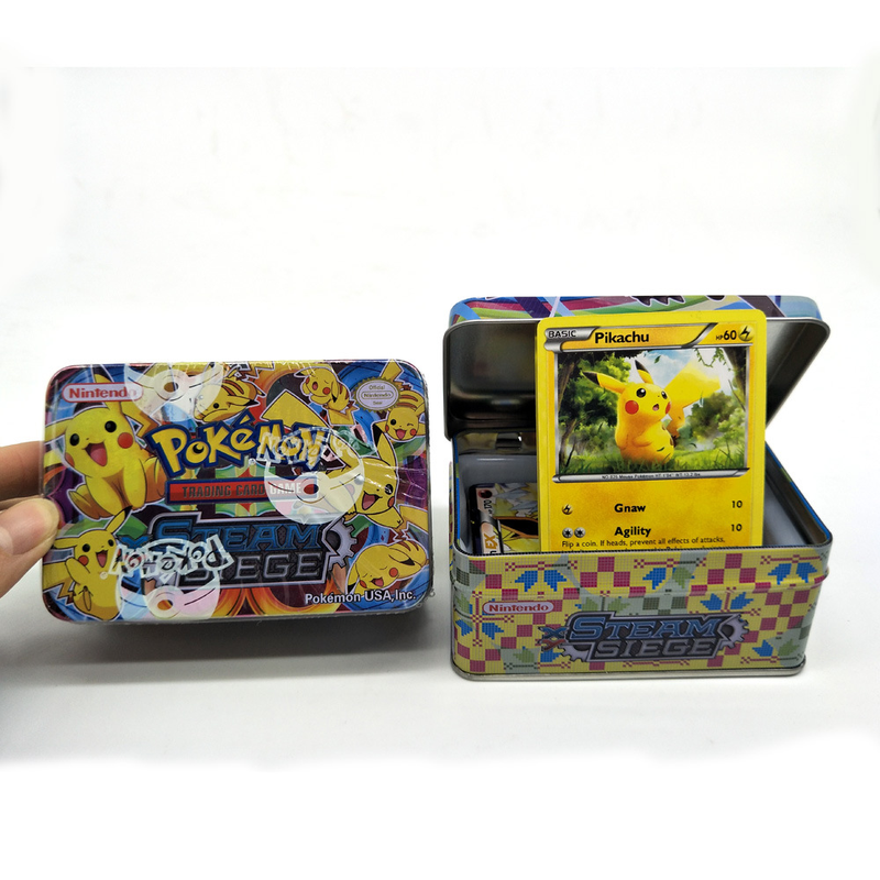 42cards/box GX MEGA Pokemon Shining Cards Game Battle Cartes Pokemon Trading Cards Game Children Pokemons Toy