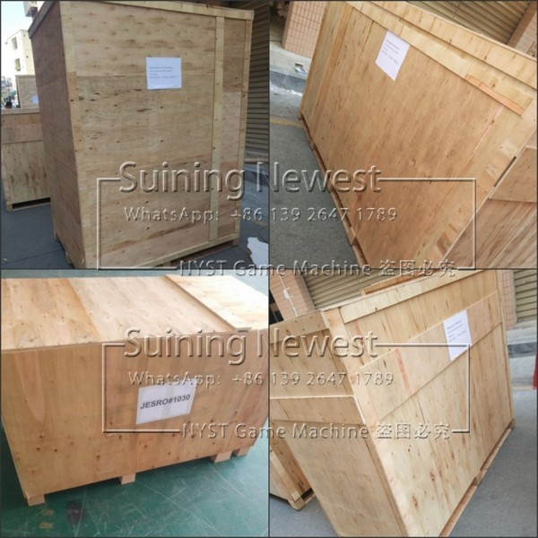 Arcade Game Machine Wood Case Package