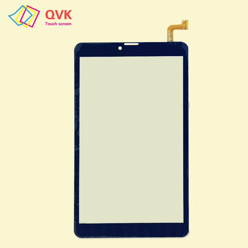 Black 8 Inch For DEXP Ursus P180 LTE Capacitive Touch Screen Panel Repair Replacement Parts Free Shipping