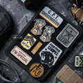 OneTigris Tactical MULTI-Page Morale Patch Organizer Patch Holder Board Mat for All Morale Patches ID Name Tapes