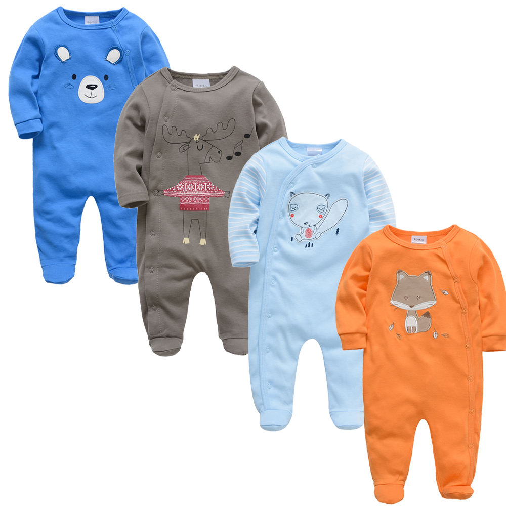 2019 New Baby Romper Clothing Body bebes Newborn Pajamas Long Sleeve Jumpsuit roupa de bebes Girls Rompers Baby Boy Clothes