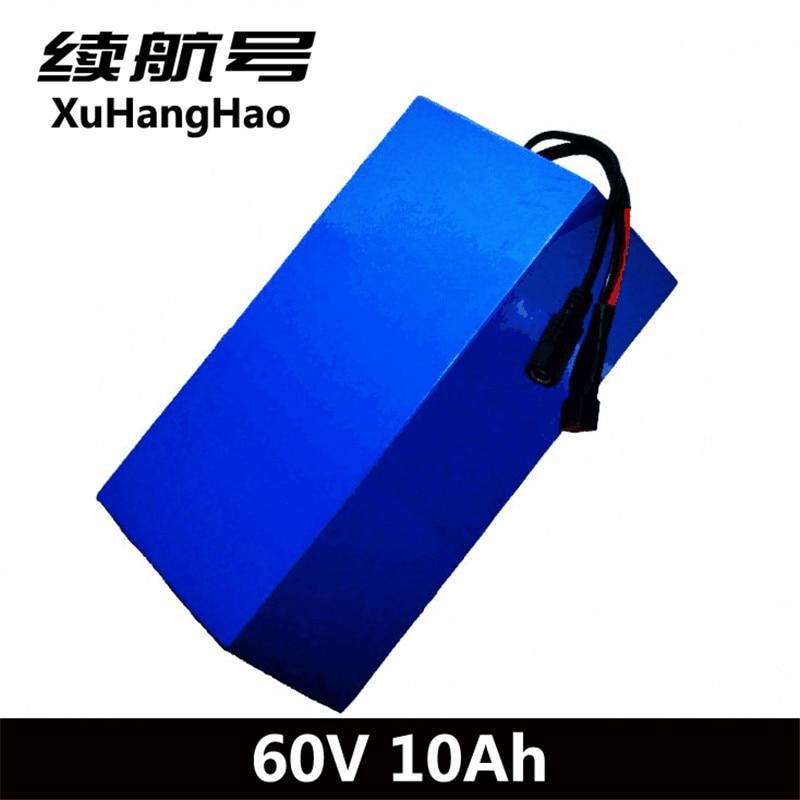 XuHangHao 60 v 10ah batterie li-ion 60 v 6AH 60 v 18650 cellulaire électrique monocycle batterie 60 v au lithium batterie pack