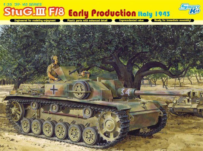 ФОТО Dragon model 6620 1/35 scale StuG. III F/8 Early Production Italy 1943