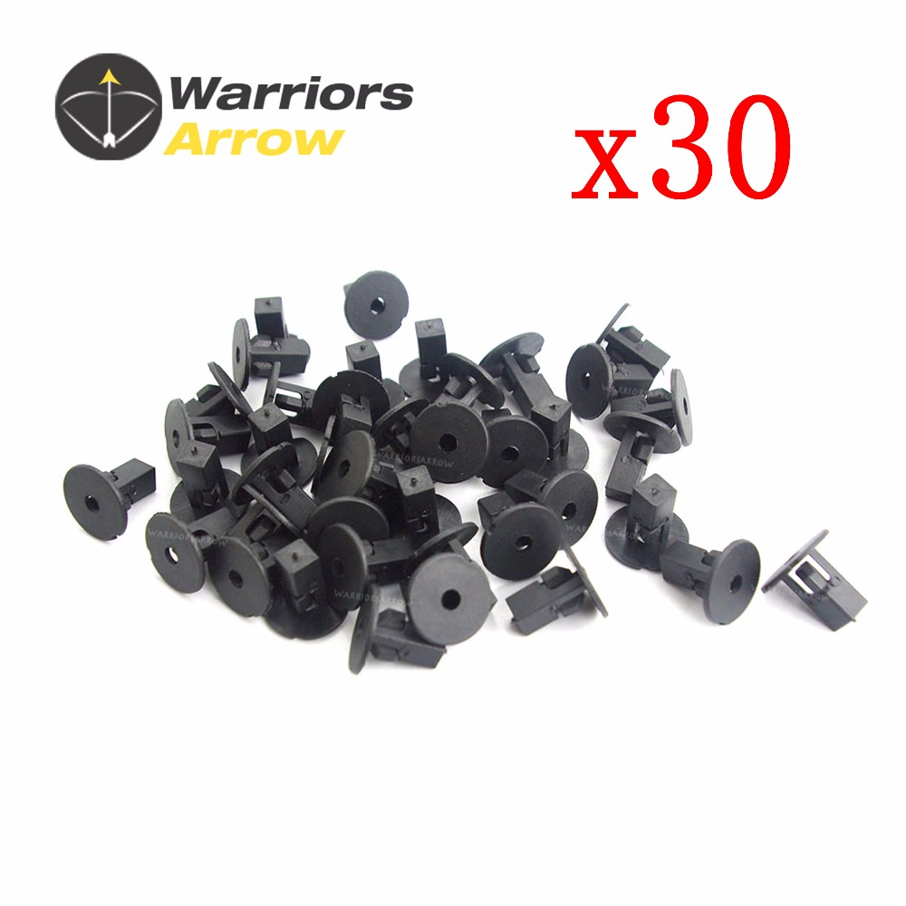 10X Clips 9mm Fender Liner Screw Grommets For Toyota Tacoma Lexus 90189-06065 LA
