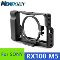 Sonovel RX100 Aluminum Alloy Camera Cage for Sony RX100 III IV V Camera Stabilizer for RX100 M3 M4 M5