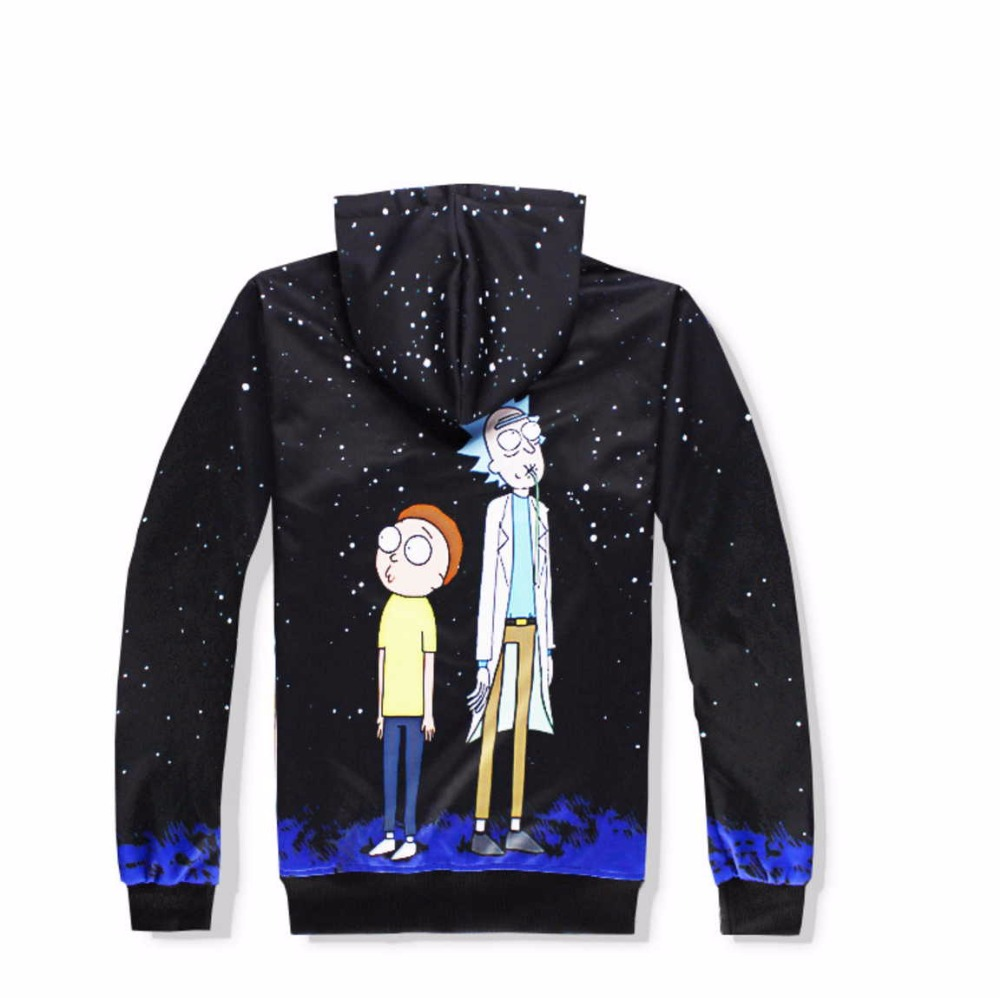 Casual Unisex Rick and Morty  Print Hoodies or Skinny Jeans (Sell by Separate) Anime Sweatshirt With Hat Spring Autumn Clothing Rick and Morty  Print Hoodies HTB1c5fZQFXXXXXbaXXXq6xXFXXXf