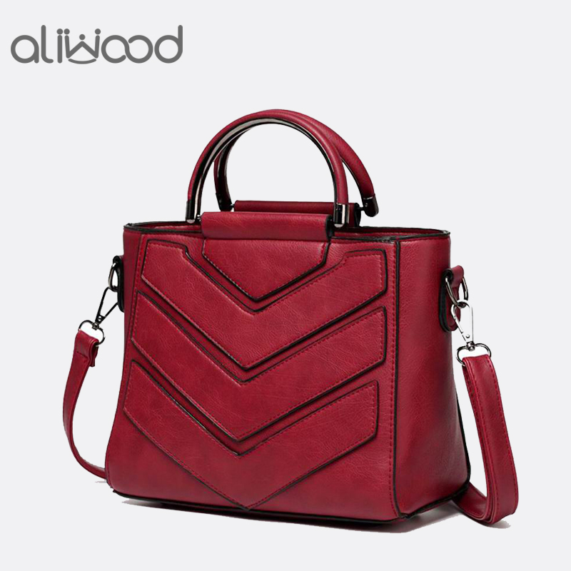 2017 New Women Bag PU Leather Handbags Ladies Crossbody Bags Trendy Luxury Tote Female Shoulder Messenger Bags Bolsas Feminina xiyuan brand pu leather women bag bolsas 2017 design handbag shoulder bags vintage female luxury messenger crossbody casual tote