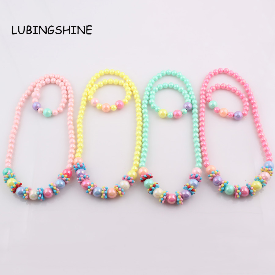 Candy color Handmade Children Beads s