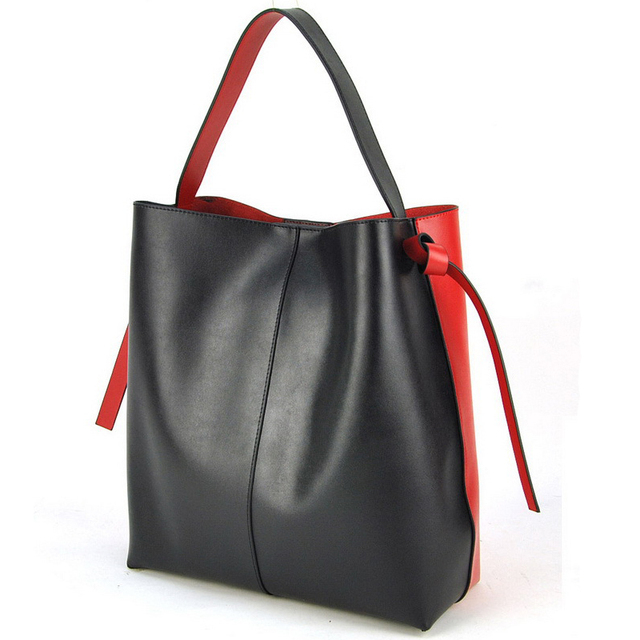 Women Real Nappa Leather Tote Designer Handbag Shoulder Purse Shopper  Shopping Cabas Bag Fashion Daily Casual d0ccbdeeeb839