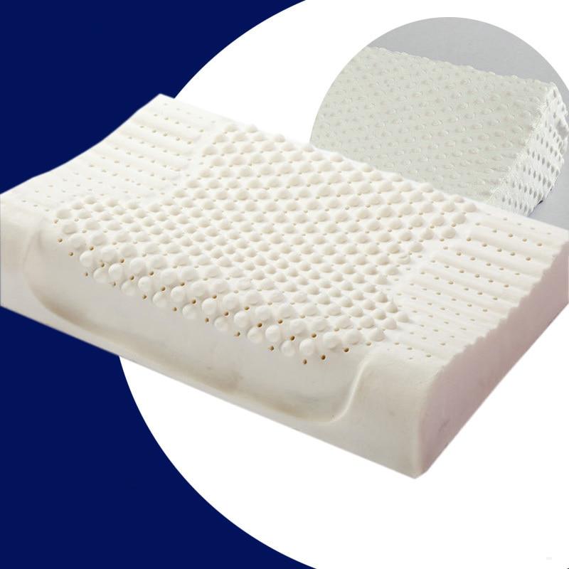 Massage Latex Pillow 100 Natural Gel Thailand size 40 x 60 cm Massage bedding pillow Slow