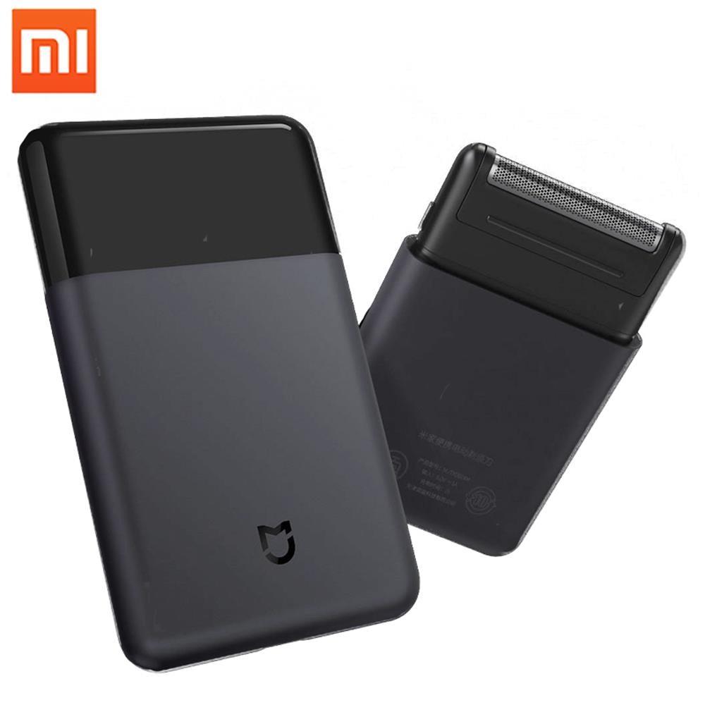 100 Xiaomi Mijia Electric Shaver Razor Mini Portable Shaver Japan Steel Cutter Head Metal Body Type