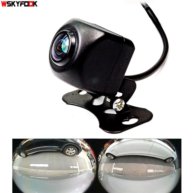 600L CCD HD 180 градусов Рыбий глаз объектив Автомобильная камера заднего вида/вид спереди широкоугольная камера заднего вида камера ночного вид...
