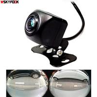 600L CCD HD 180 degree Fisheye Lens car camera Rear / Front view wide angle reversing backup camera night vision parking assist