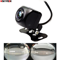 600L CCD HD 180 degree Fisheye Lens car camera Rear / Front view wide angle reversing backup camera night vision parking assist